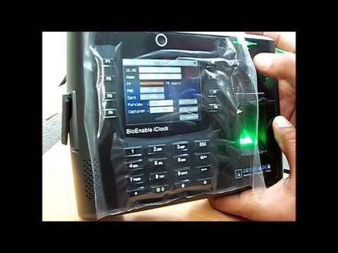 Controler de acces biometric, cititor de amprente cu pontaj