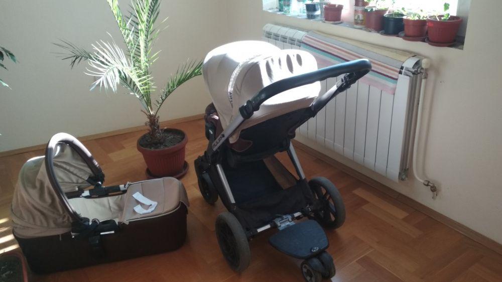 Бебешка количка с 3 коша
