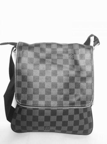Мъжка кожена чанта Louis Vuitton zip edition