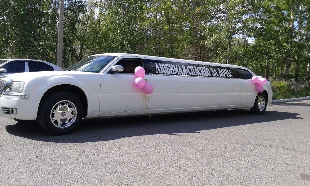 Оформление свадебных машин, лимузинов