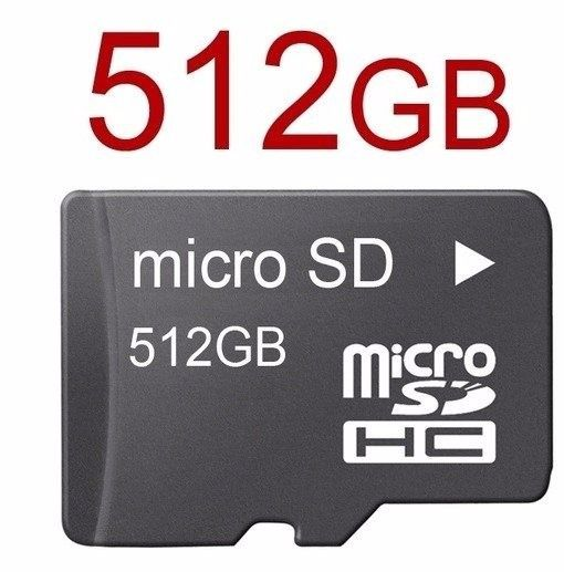 Cartão de Memória Micro SDHC 512GB