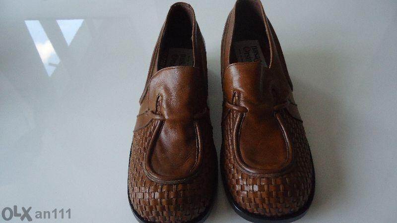 ръчно изработени мъжки обувки от естествена кожа