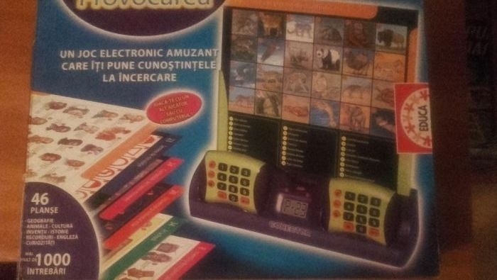 Joc de masa Board Game electronic educativ - PROVOCAREA
