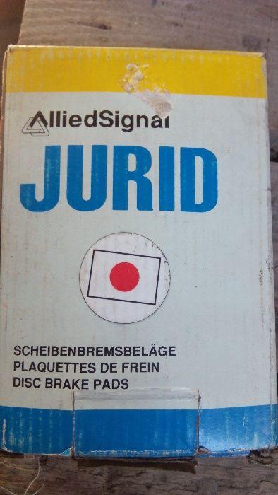 продам тормозные колодки jurid на 626 мазду(задние)