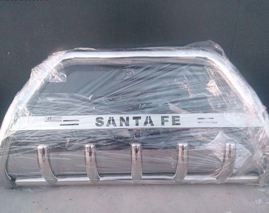 Bullbar inox Hyundai Santa Fe 2013-2018