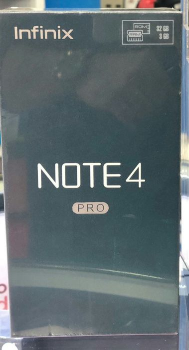 Infinix Note 4 pro 3gb ram e 32gb disponivel