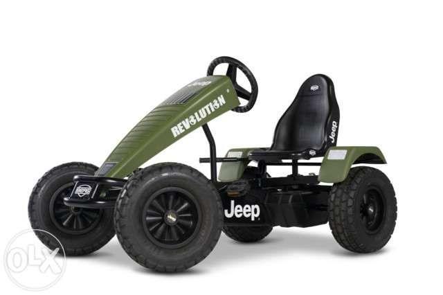 Kart cu pedale BERG Jeep Revolution BFR