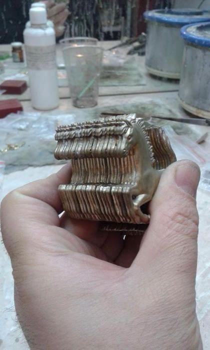 Леене на месинг,бронз,сребро,злато и посребряване.Матрициране