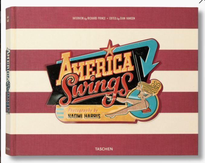 TASCHEN Carte Editie limitata Naomi Harris America Swings album foto
