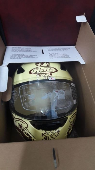 Продам шлема HJC на запчасти новые