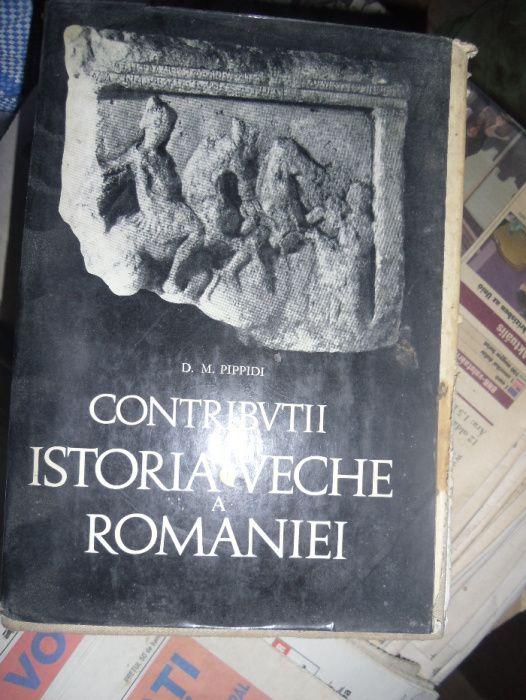 Contributii la istoria veche a Romaniei