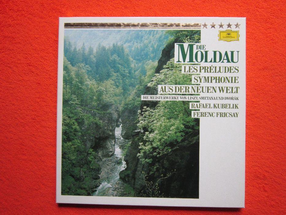 vinil 2xLP Dvořák,Smetana,Liszt-Die Moldau,Les Préludes,Der Neuen Welt