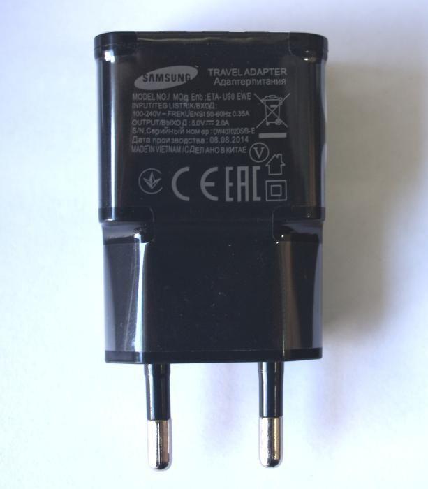 Зарядно 220V / 2.1A за таблет и за телефон 2 -USB изхода 000028 черно