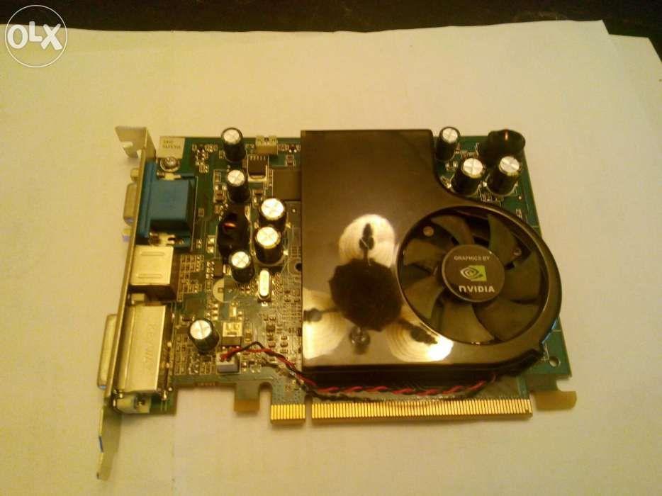 Placa video nVidia GEFORCE 8600 GS 512 MB (defecta)
