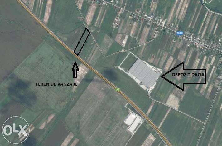 Teren Autostrada km 105