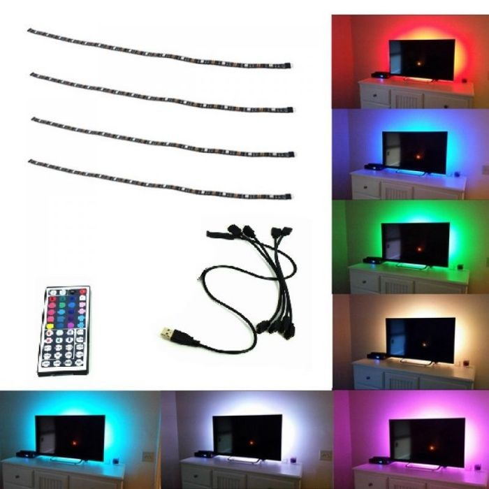 Kit Banda Led Rgb Lumina Ambientala TV / Monitor AMBI44