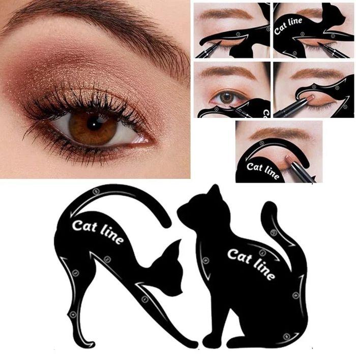 Cat Line- sablon machiaj