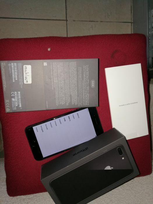 IPhone 8pluz 64g ha bom preço com uma semana de.uso