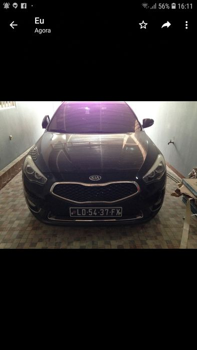Vendo este kia Cadenza V6 semi-novo full option