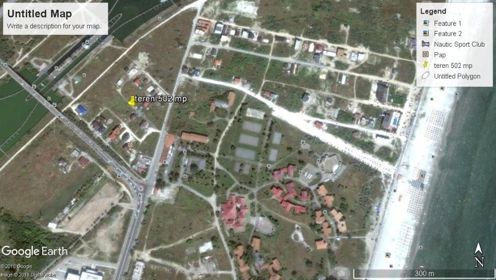 Vanzare  terenuri constructii Constanta, Navodari Tabara  - 45500 EURO