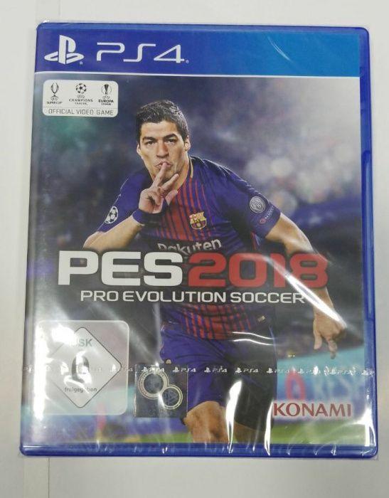 PES provolution Soccer 2018 selados para Ps4