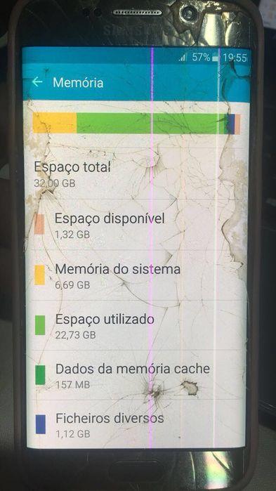 Samsung Galaxy S6 EDGE Gold 32Gigas original. Usado Viana - imagem 6