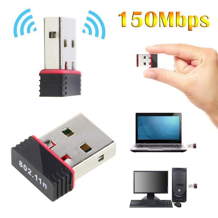 Placa de Rede Wifi USB + Entrega (2)