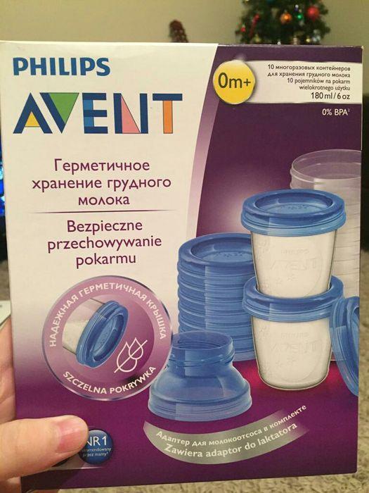Контейнеры Avent для хранения молока 10шт.