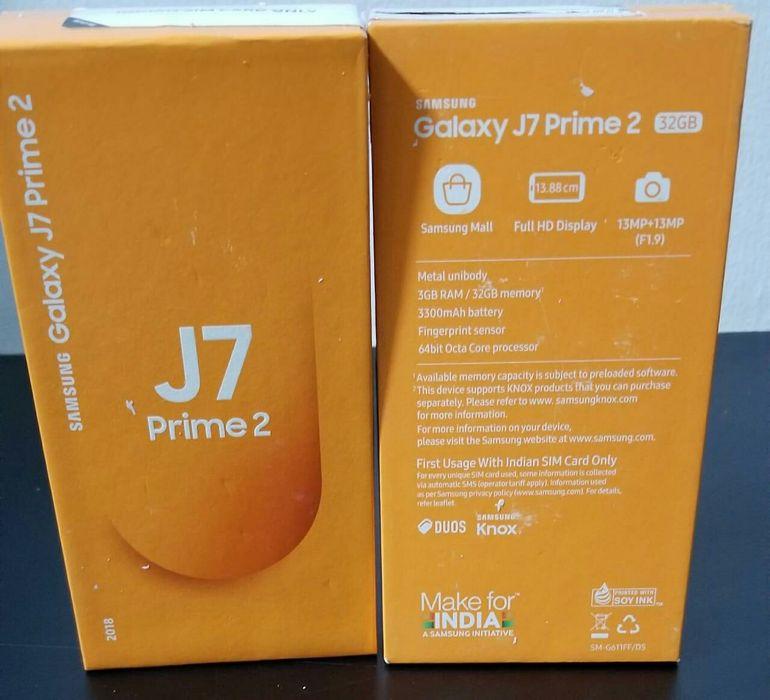 Samsung j7 prime 2 selado