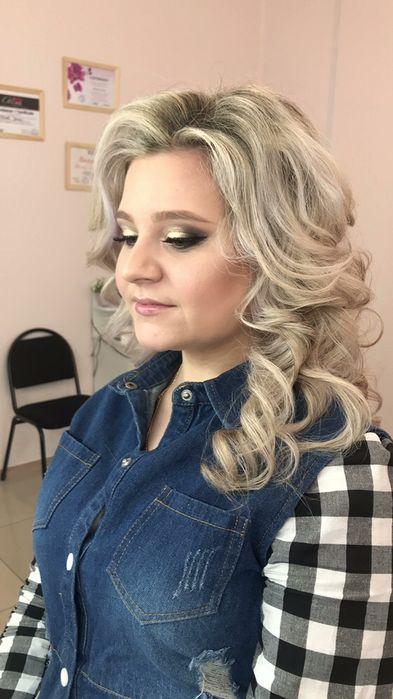 Наращивание ресниц, причёски, макияж, брови на выезд Астана
