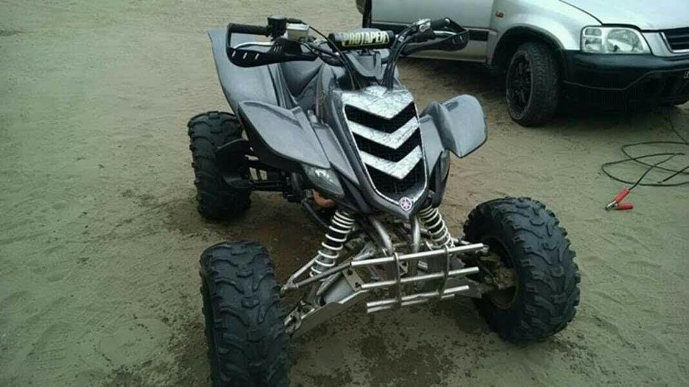 Yamaha raptor 700 ducumentada
