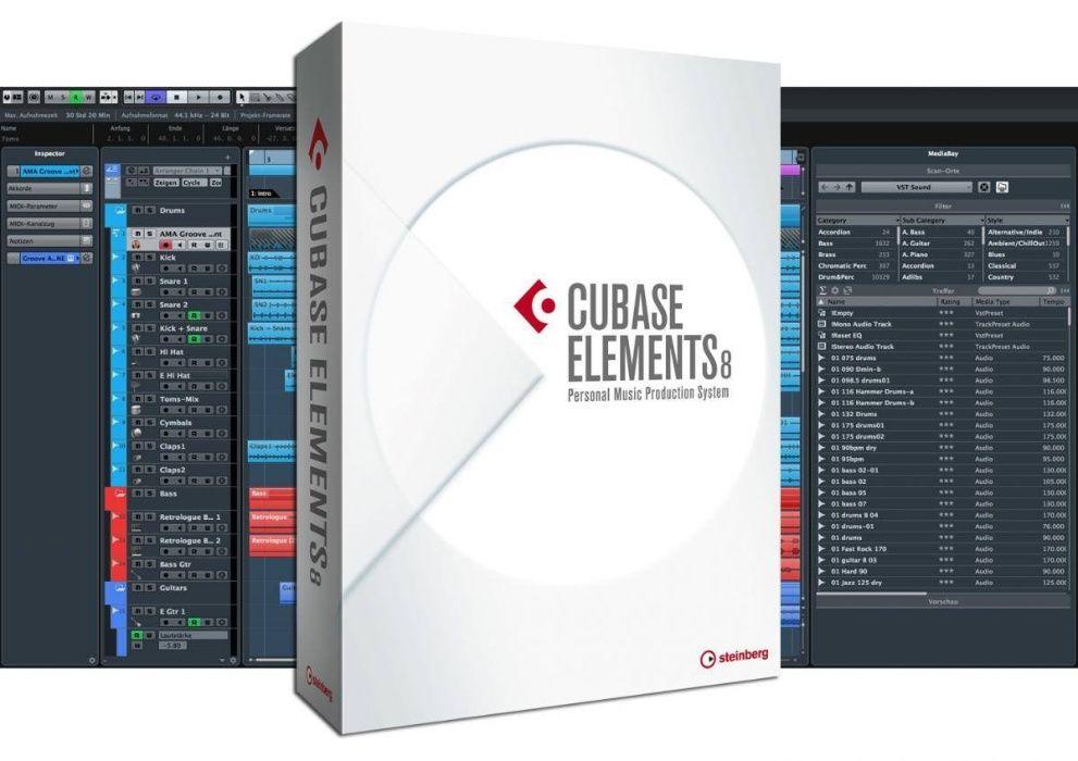 Cubase 8 Full Elements para mac