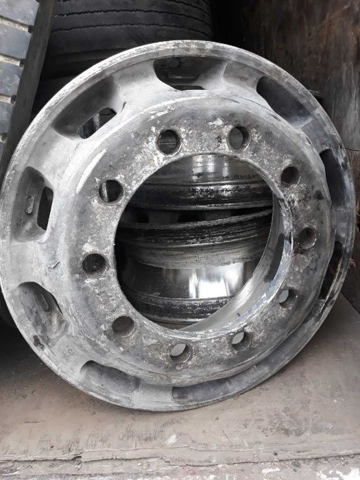 Jante aliaj camion second hand 9.0x22.5 (10 prezoane)