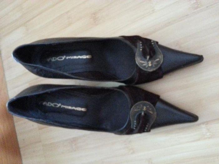 Дамски обувки кафяви малък размер № 35