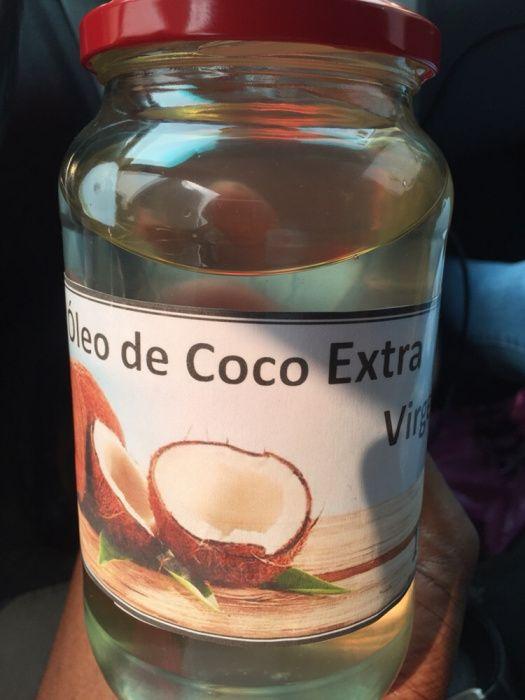 Óleo de côco natural 1 litro