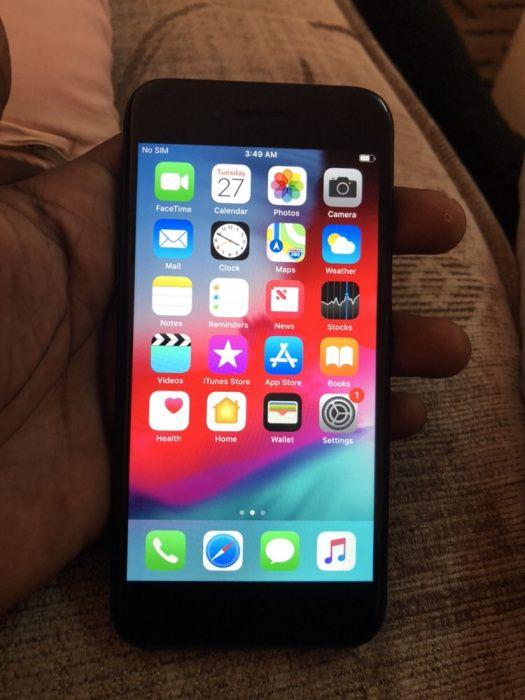 IPhone 7 32gb mate black novo