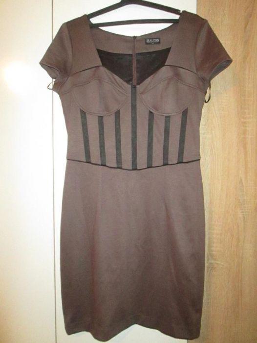 Уникална полска рокля с етикет Bialcon номер 42