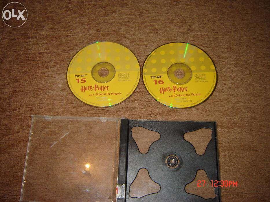 Cd-uri audio Harry Potter in engleza