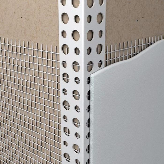 Усилитель угла с сеткой для фасадных работ 10х15 - 2,5 м