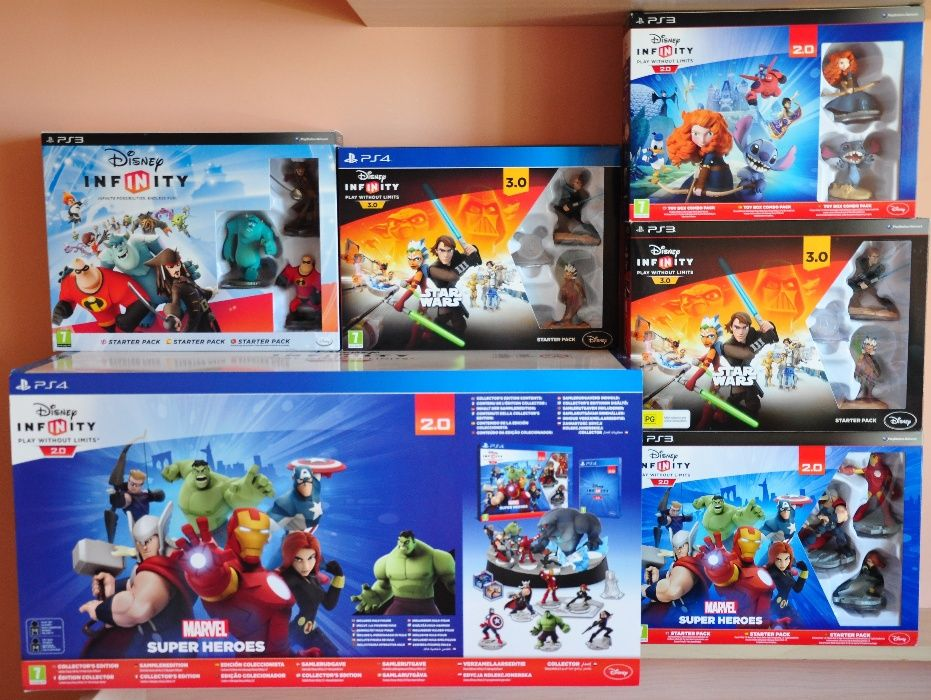 Нови ps3,ps4,Star Wars,Infinity,дисни,Skylanders,lego,dimensions