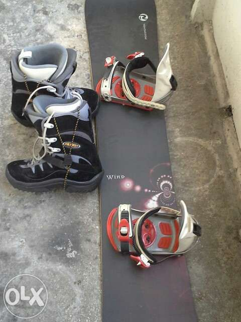 Snowboard+boots