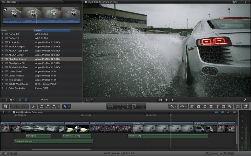 Final Cut Pro X 10.4.5 – Professional video editing solution