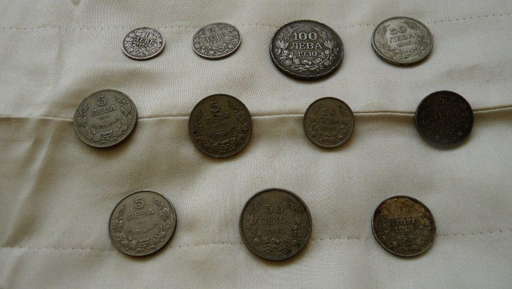 Лот от монети- от 1894г. до 1943г. /10 броя/