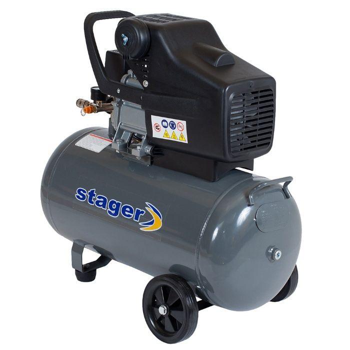 Compresor Stager HM2050B/50 1.5KW; 200L/min; Rezervor 50L. Mogosoaia - imagine 2