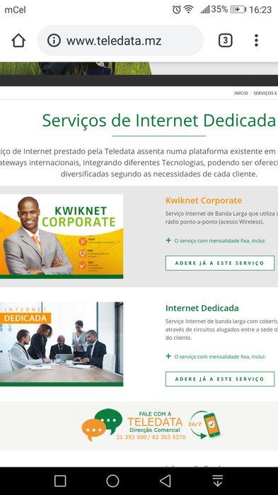 Internet Dedicada e Residencial