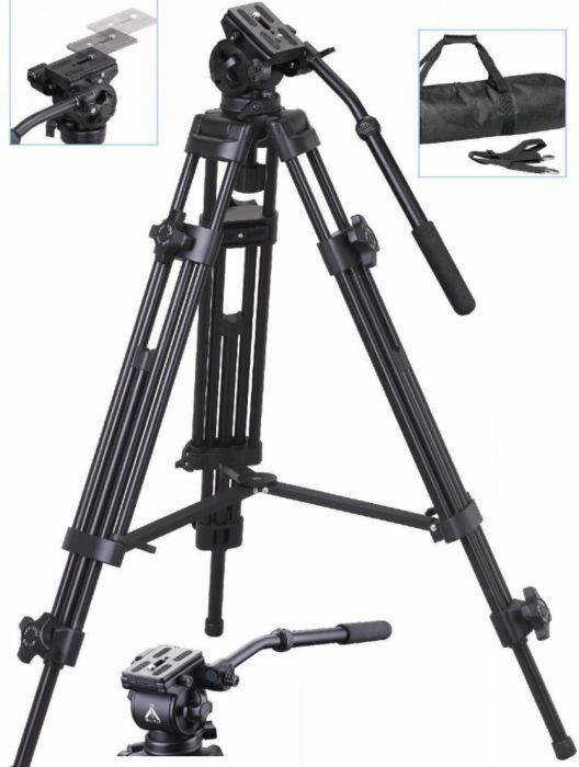 E-Image Weifeng EI-717X Kit Trepied Video 6Kg / 192 Cm