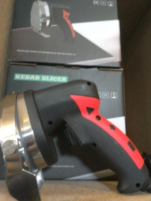 Нож за Дюнер Електрически Чисто нов + подарък резервен диск!