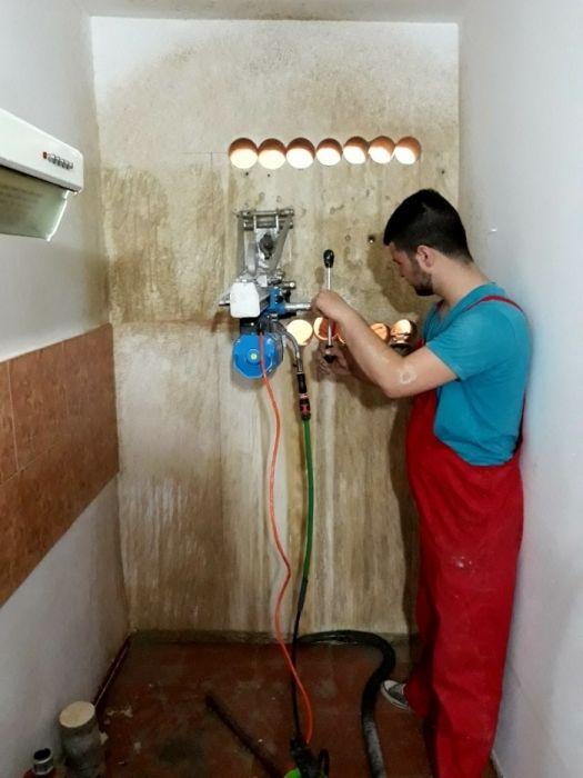 Gaură hotă, Centrală termică, AC,Aerisire&Tăieri pereți