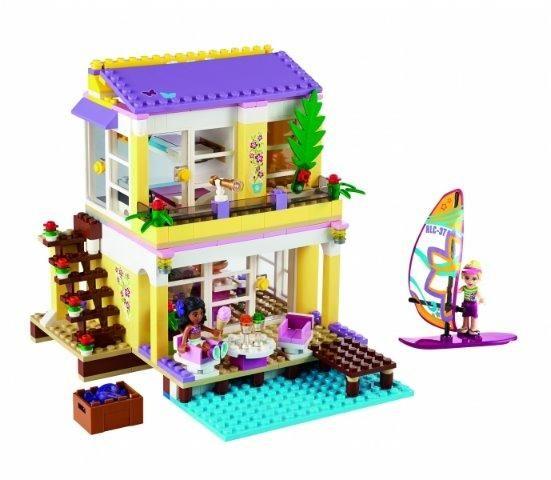 LEGO Friends - Casa de pe plaja a Stephaniei (41037)