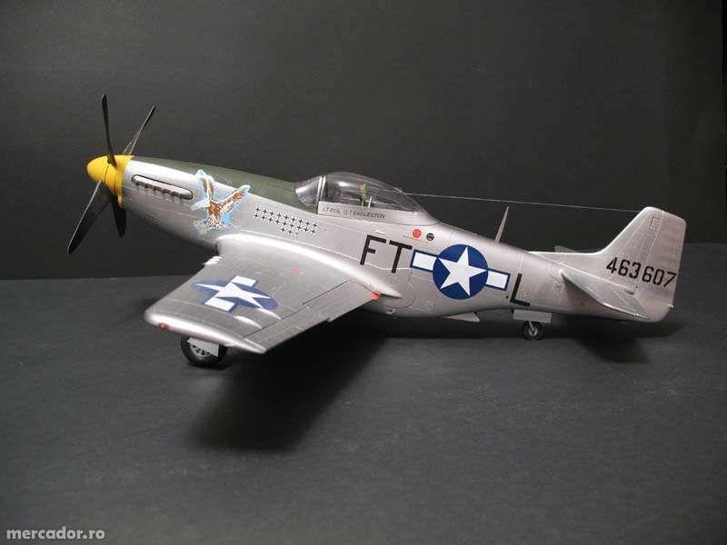 Vand macheta avion P-51D Mustang IV scara 1/24
